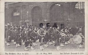 Gordon's Boys Home Military Band in Lille 1907