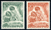 BERLIN 1951, MiNr. 80-81, postfrischer Kabinettsatz, Mi. 55,-