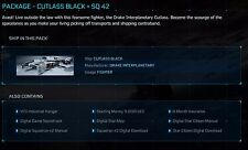 Star Citizen Cutlass Black + SQ42 Package (Star Citizen Starterpaket !!!)