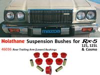 Rx5 / 121 / 121L / Cosmo Suspension Bushings (Nolathane 46036 -Rear Trailing Arm