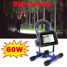 Rechargeable LED Portable Flood Light Camping Fishing Work Light Emergency Lamp