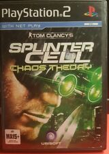 Tom Claney's splinter cell chaos theory ps2