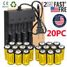 Lot Rechargeable CR123A Batteries 3.7V Li-Ion for Netgear Arlo Security Camera