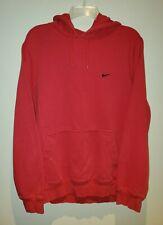 Nike Mini Swoosh Red Hoodie Sweatshirt Vintage Men's XL Athletic Department