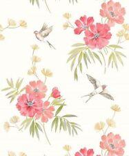 Paper Vintage/Retro Floral Wallpaper Rolls & Sheets