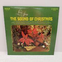 "Living Strings ""The Sound of Christmas"" RCA CAMDEN CAS-2426 LP Record Vinyl"