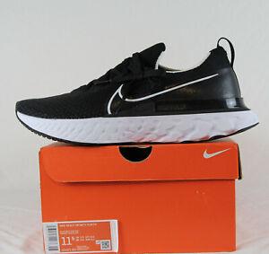 New Nike React Infinity Run FK in Black/White-Dark Grey Colour Size 10