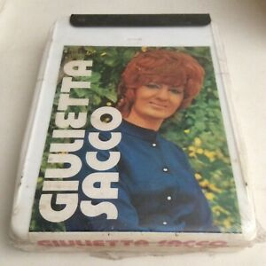 Vintage 8 Track Tape Cartridge - Italian - Giulietta Sacco