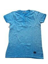 Leif nelson T-shirt Herren Gr. L Blau Top Zustand