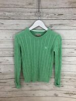 JACK WILLS Jumper - Size UK6 - Green - Great Condition - Women's
