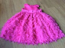 Girls Pink Cinderella Party Dress Age 6