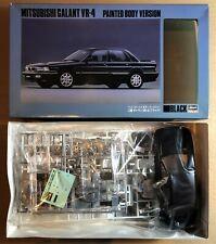 HASEGAWA SP072:2500 - MITSUBISHI GALANT VR-4 BLACK BODY - 1/24 PLASTIC KIT