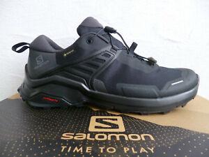 Salomon Sportschuhe Halbschuhe Sneakers X RAISE GTX schwarz Neu!!!