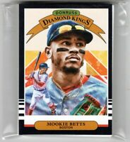 2019 Donruss Red Sox Team Set With Diamond King and Variations Betts Sale