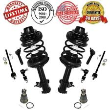 Complete Struts + Ball Joint Sway Bar & Tie Rods for Nissan Altima 03/1996-1997