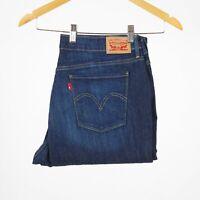 Levi's 515 Bootcut Indigo blau Damen Jeans 30/30