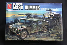 XG014 AMT 1/35 maquette vehicule 8672 AM General M998 Hummer tow missile carrier