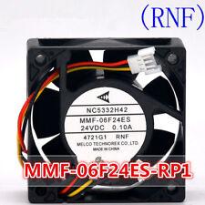 Mitsubishi inverter cooling fan MC5332H42 MMF-06F24ES-RNF 24v 0.10A 6025
