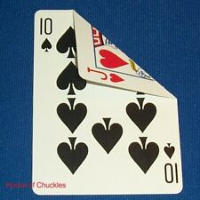 (2) Double Face Bicycle Gaff Playing Cards, Great for Card Magic Tricks, No Back