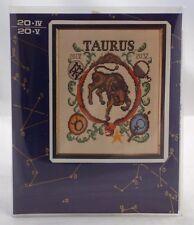 Lanarte Cross Stitch Kit TAURUS Zodiac Horoscope Complete Kit New