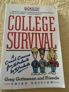 College Survival by Greg Gottesman (1994, Trade Paperback)
