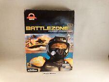 Battlezone II Combat Commander 2-PC Big Box Edition Fathead Italian NEW