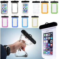 Waterproof Underwater Dry Pouch Case Cover Bag for iPhone 6 Samsung Galaxy Phone