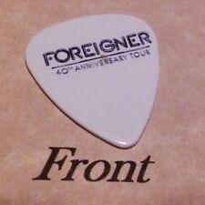FOREIGNER 40th TOUR (Band Signature Logo) guitar pick  -(d3)