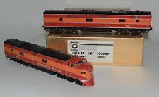 HO Brass Southern Pacific EMD E-7A #6002 + E7B #5901 Oriental/Samhongsa NICE!
