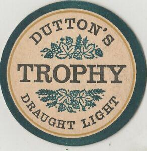 Beer Mat. Dutton's Blackburn Brewery, Blackburn. 1968. BBMCS No. 058.