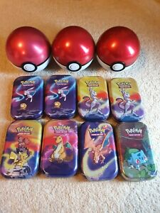 Pokemon Empty Tins