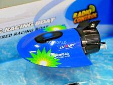 RC Micro SUBMARINE Mini Rc U-Boat HIGH SPEED Radio Control SUBMARINE Blue