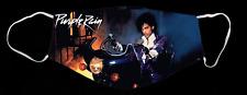 Prince on Motorcycle Purple Rain Custom Face Mask
