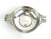 Art Nouveau Quaich Arts & Crafts Solid Sterling Silver W G Connell London 1901