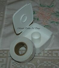 TUPPERWARE LABEL DISPENSER WHITE & LABELS
