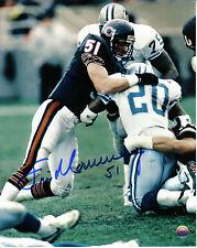 Chicago Bears Jim Morrissey Signed 8x10 Photo #1 Super Bowl XX 1985