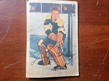 "1953-1954 Parkhurst Samuel ""Sugar Jim"" Henry Boston Bruins Hockey Card"