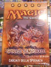 MTG Magic Mazzo 60 Carte ITALIANO Spirale Temporale CROCIATI DELLA SPERANZA New