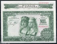 Pareja 1000 Pesetas año 1957  Reyes Católicos Serie 1G  SC  /  Spain pair UNC