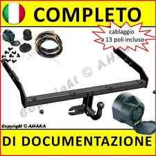 Gancio traino fisso Seat Alhambra  VW Sharan 2000-2010 + kit elettrico 13-poli