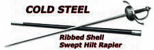 Cold Steel Ribbed Shell Swept Hilt Rapier 88CHR **NEW**