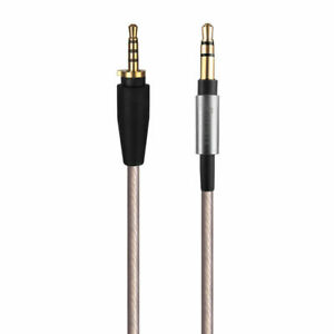 Replacement  For Sennheiser Urbanite XL On/Over Ear Upgrade Silver Audio Cable
