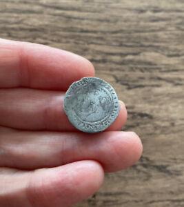 ELIZABETH I (1558-1603). SILVER THREEPENCE. DATED 1566.