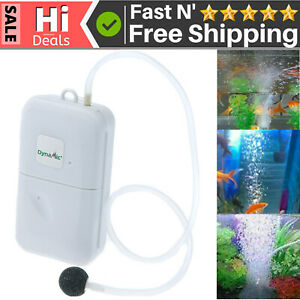 Large Power Battery Mini Air Pump Portable Fishing Aerator Fish Tank Oxygenated