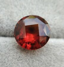 9.71 Natural Untreated / Unheated Hessonite Garnet | Certifed | Round | VVS