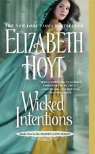 MAIDEN LANE: WICKED INTENTIONS 1-BY ELIZABETH HOYT-MYSTERY-ROMANCE-INVESTIGATIVE
