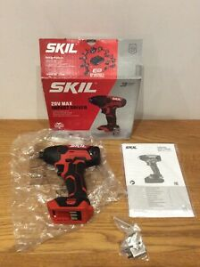 Skil Impact Driver 20v Body 3205 Only Boxed Ship Worldwide