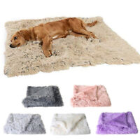Pet Dog Puppy Cat Large Soft Plush Blankets Warm Rug Mat Sleeping Bed Supplies