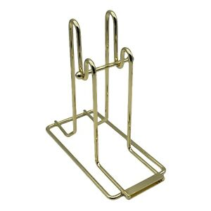 (New) Brass Plated Raffle Ticket Dispenser for Single/Double Roll Raffle Tickets
