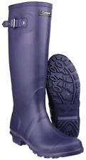 Scarpe da donna Stivaletti di gomma viola